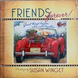 Friends Forever friendship book, NEW